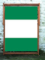 National Flag of Nigeria, World Cup Designer Wideboy Deckchair