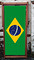 National Flag of Brazil - World Cup designer deckchair