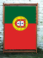 Flag of Portugal World Cup Designer Wideboy Deckchair