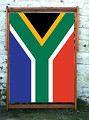 South Africa Flag - Designer Wideboy Deckchair