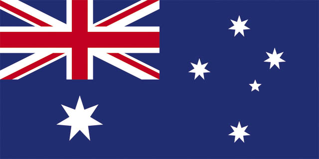 Australian National flag - world cup designer deckchair