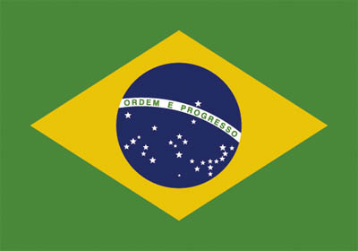 National flag of Brazil - World Cup deckchair designs