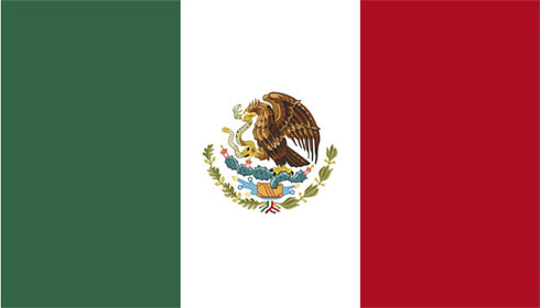 National flag of Mexico - World Cup deckchair designs